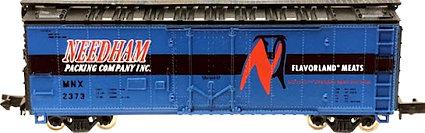 N Scale - Brooklyn Locomotive Works - 1007 - Reefer, Ice, Steel - Needham Packing - 2373