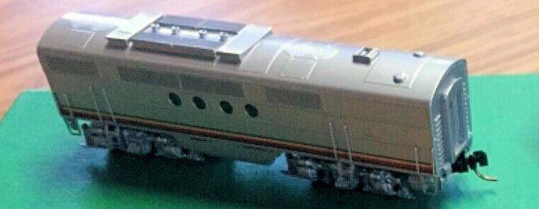 N Scale - Overland Models - 2865.1 170/170A-B - Locomotive, Diesel, EMD FT - Santa Fe - 170A