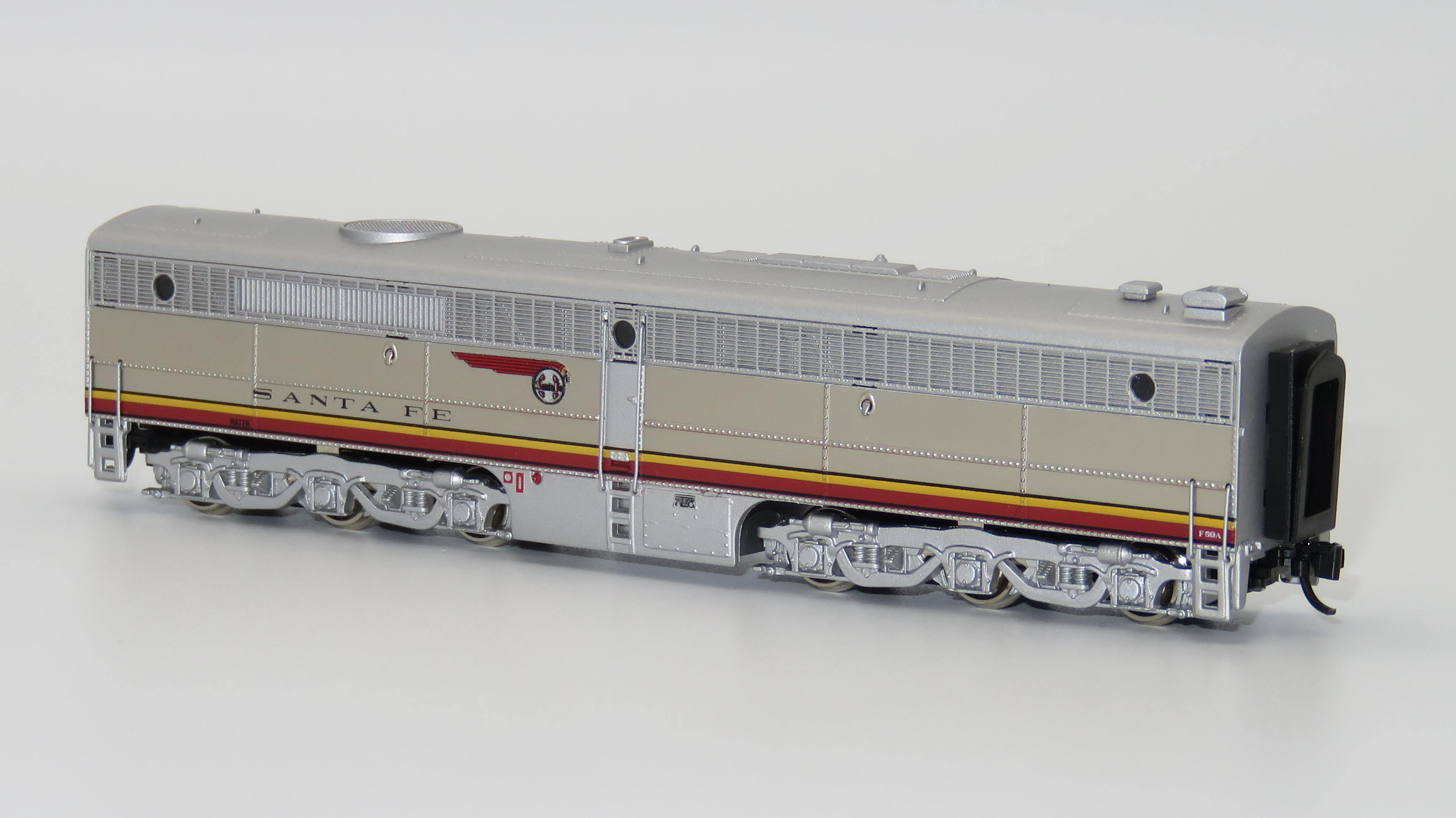 N Scale - Broadway Limited - 448-B - Locomotive, Diesel, Alco PA/PB - Santa Fe - 59A