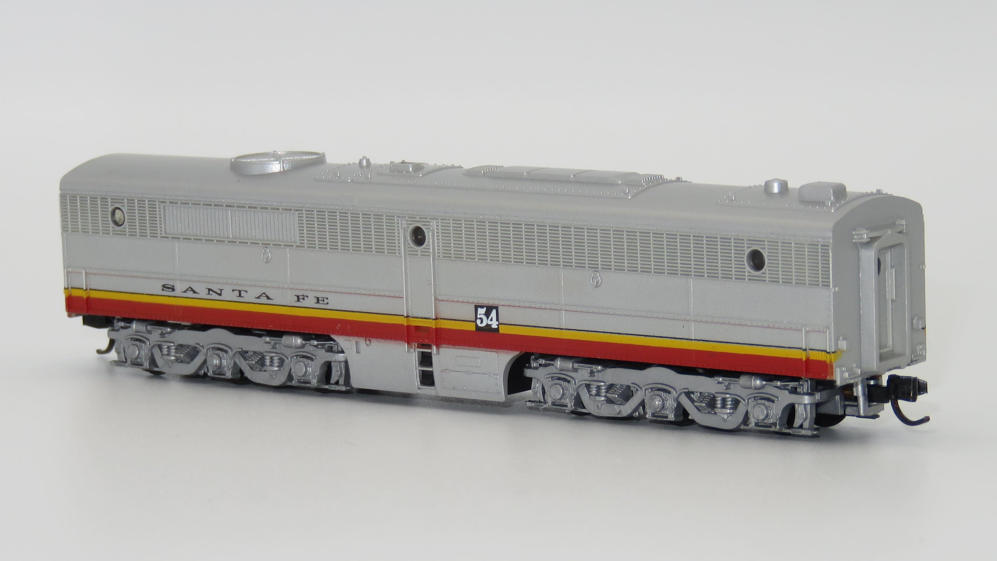 N Scale - Con-Cor - 0001-202042 - Locomotive, Diesel, Alco PA/PB - Santa Fe - 54