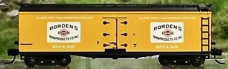 N Scale - Athearn - NSC ATH 11-04 - Reefer, 40 Foot, Pfaudler - Borden