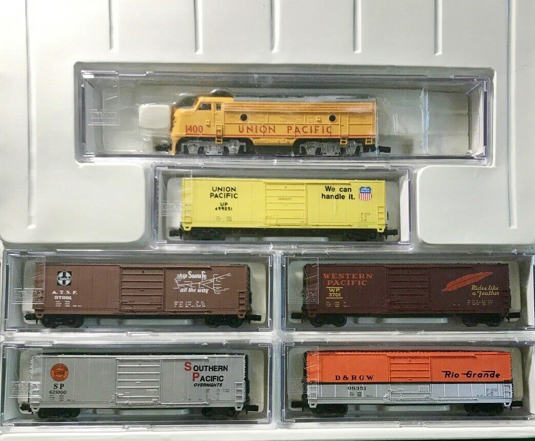 N Scale - Bev-Bel - L-4091 - Engine, Diesel, F7A - Union Pacific - 1400