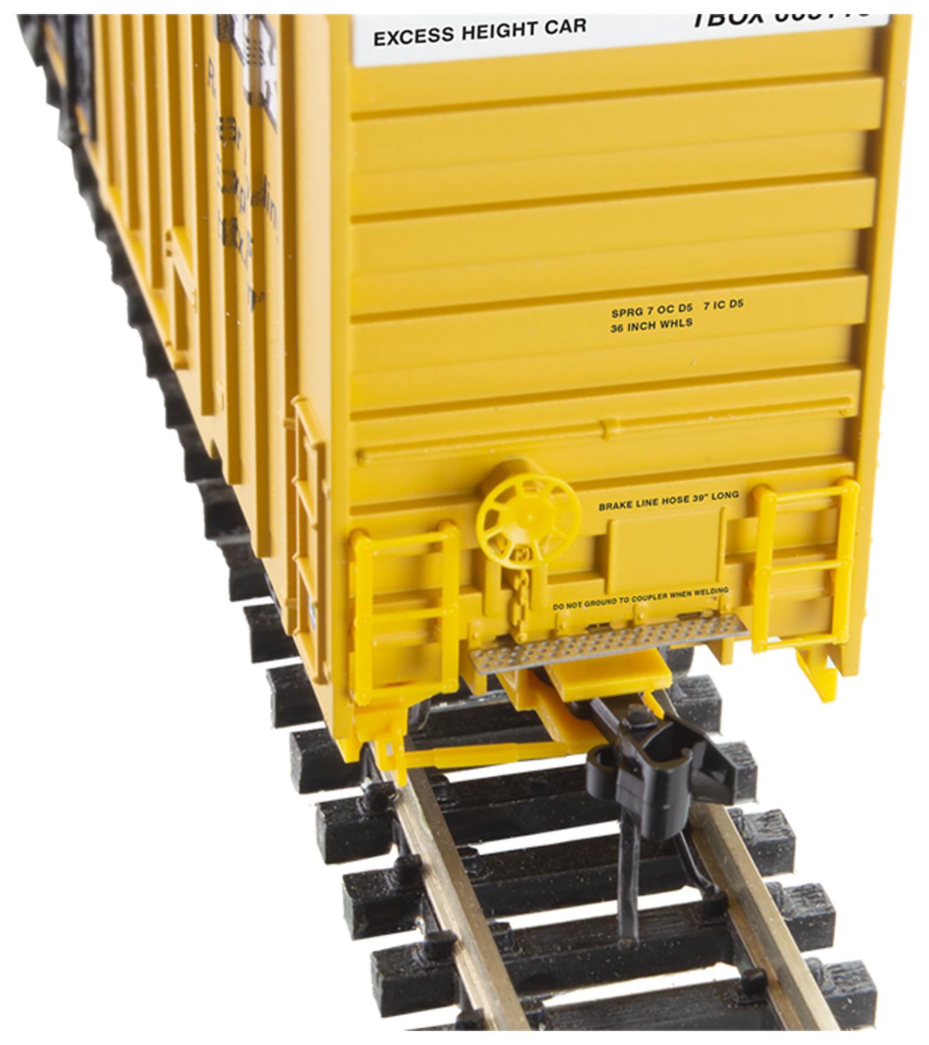 N Scale - Micro-Trains - 123 53 010 - Boxcar, 60 Foot, NSC Excess Height - RailBox - 665141