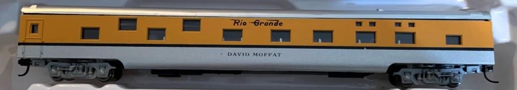 N Scale - Con-Cor - 0001-040083 - Passenger Car, Smoothside, 85 Foot Sleeper - Rio Grande - David Moffat