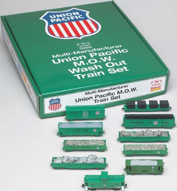 N Scale - Various - NSC 05-10G - Maintenance of Way Equipment - Union Pacific - 10-Pack