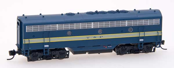 N Scale - InterMountain - 69751-02 - F7B - Alaska Railroad - 1515
