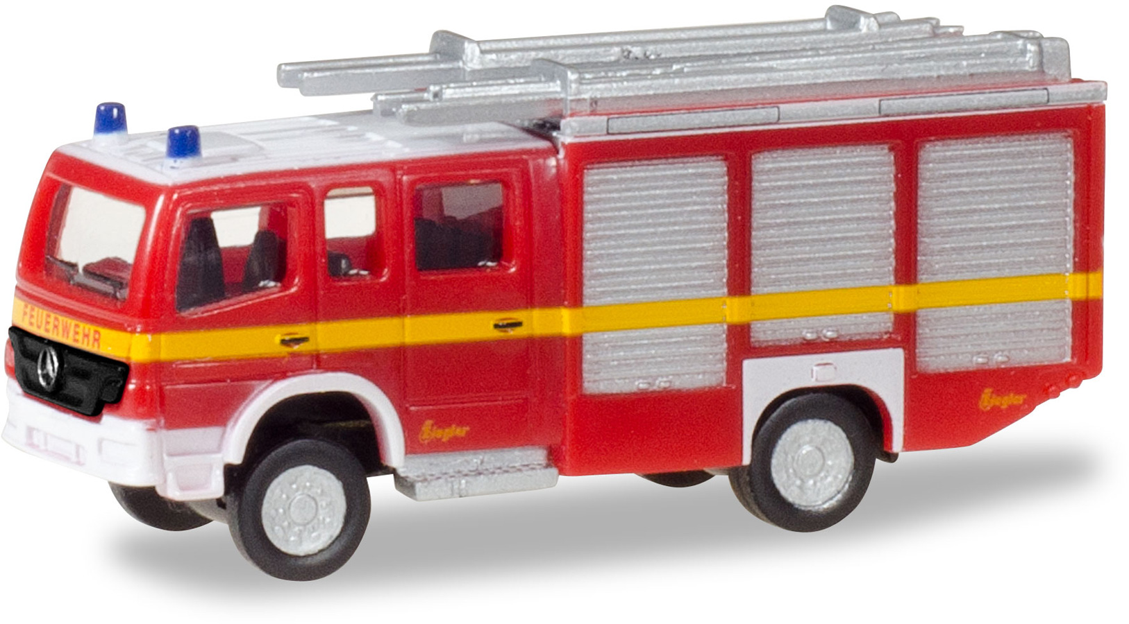 N Scale - Herpa - 066747 - Fire Engine - Fire and Rescue