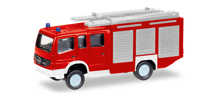 N Scale - Herpa - 066716 - Fire Engine - Fire and Rescue