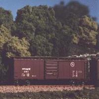 N Scale - Squeak N Products - 0004 - Boxcar, 40 Foot, PS-1 - Susquehanna - 401