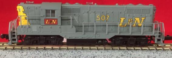 N Scale - Atlas - 48317 - Locomotive, Diesel, EMD GP9 - Louisville & Nashville - 507