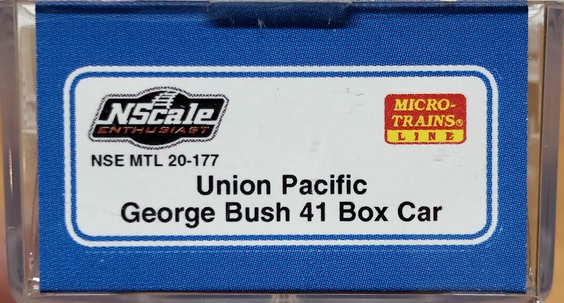 N Scale - Micro-Trains - NSE MTL 20-177 - Boxcar, 40 Foot, PS-1 - Union Pacific - 4141