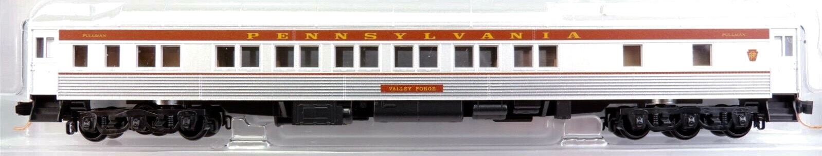 N Scale - RailSmith - NSE MTL 19-26 - Passenger Car, Lightweight, Pullman, Sleeper 10-6 - Pennsylvania - Valley Forge