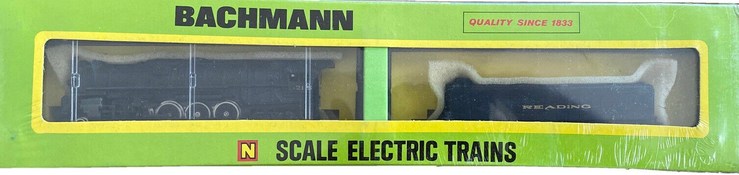 N Scale - Bachmann - 4789 - Engine, Steam, 4-8-4 Northern - Reading - 2113