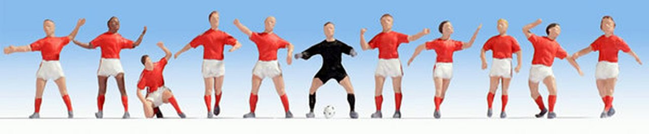 N Scale - Noch - 36967 - Football (Euro)/ Soccer (US) - People