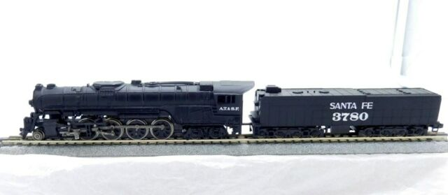 N Scale - Bachmann - 4784 - Engine, Steam, 4-8-4 Northern - Union Pacific - 3780