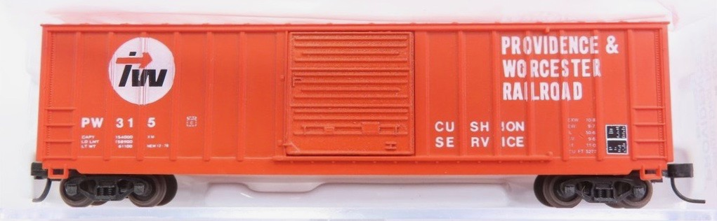 N Scale - AJ California Crossing - 1196-151A - Boxcar, 50 Foot, FMC, 5347 - Providence & Worcester - 315