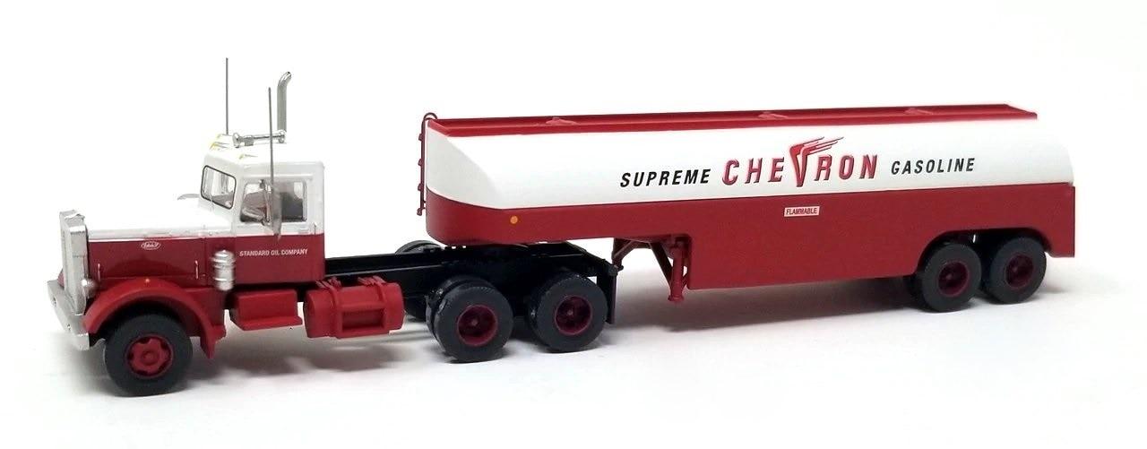 N Scale - Trainworx - 55120 - Truck, Peterbilt 281/351 - Chevron