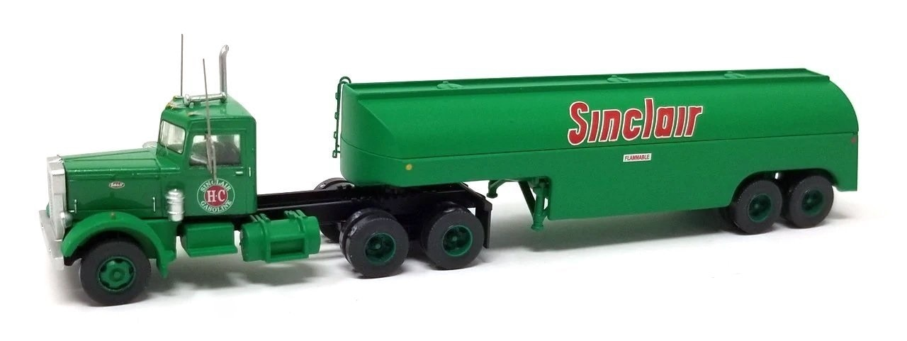 N Scale - Trainworx - 55123 - Truck, Peterbilt 281/351 - Sinclair
