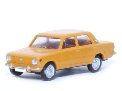 N Scale - Gabor - 12 1408 01 - Automobile, Fiat, 124 - Painted/Unlettered
