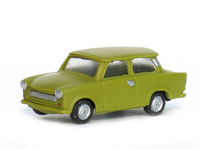 N Scale - Gabor - 12 1305 04 - Automobile,Trabant, 601 Limousine - Painted/Unlettered