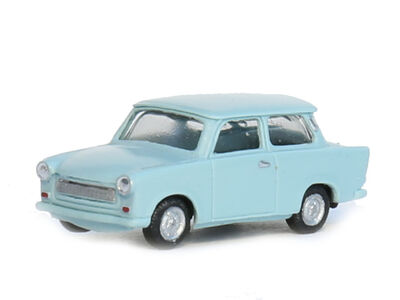 N Scale - Gabor - 12 1305 01 - Automobile,Trabant, 601 Limousine - Painted/Unlettered