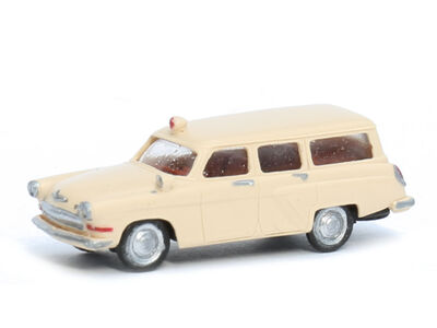 N Scale - Gabor - 12 1324 01 - Automobile, Volga, M22 Ambulance - Painted/Unlettered