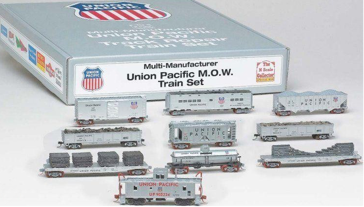 N Scale - Various - NSC 05-110 - Maintenance of Way Equipment - Union Pacific - 10-Pack