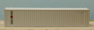 N Scale - Squeak N Products - 0046 - Container, 40 Foot, Corrugated, Dry - Sea-land - 2-Pack
