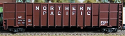 N Scale - Deluxe Innovations - 105111 - Gondola, Woodchip - Northern Pacific - 119779