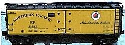 N Scale - Brooklyn Locomotive Works - 65532-B3 - Reefer, 40 Foot, R-40-23 - Northern Pacific - 91225