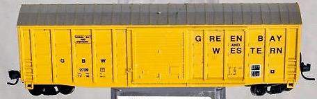 N Scale - AJ California Crossing - 1194-109A - Boxcar, 50 Foot, FMC, 5347 - Green Bay & Western - 2729