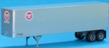 N Scale - Trainworx - 40203-04 - Trailer, 40 Foot, Box - Texas and Pacific - 20467