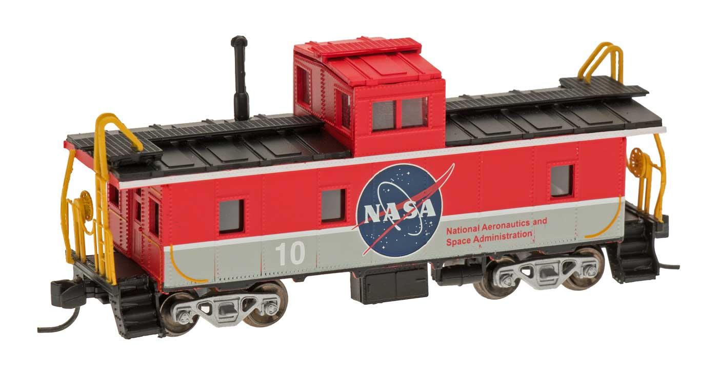 N Scale - Centralia Car Shops - NSE INT 12-27 - Caboose, Cupola, Steel - NASA - 10