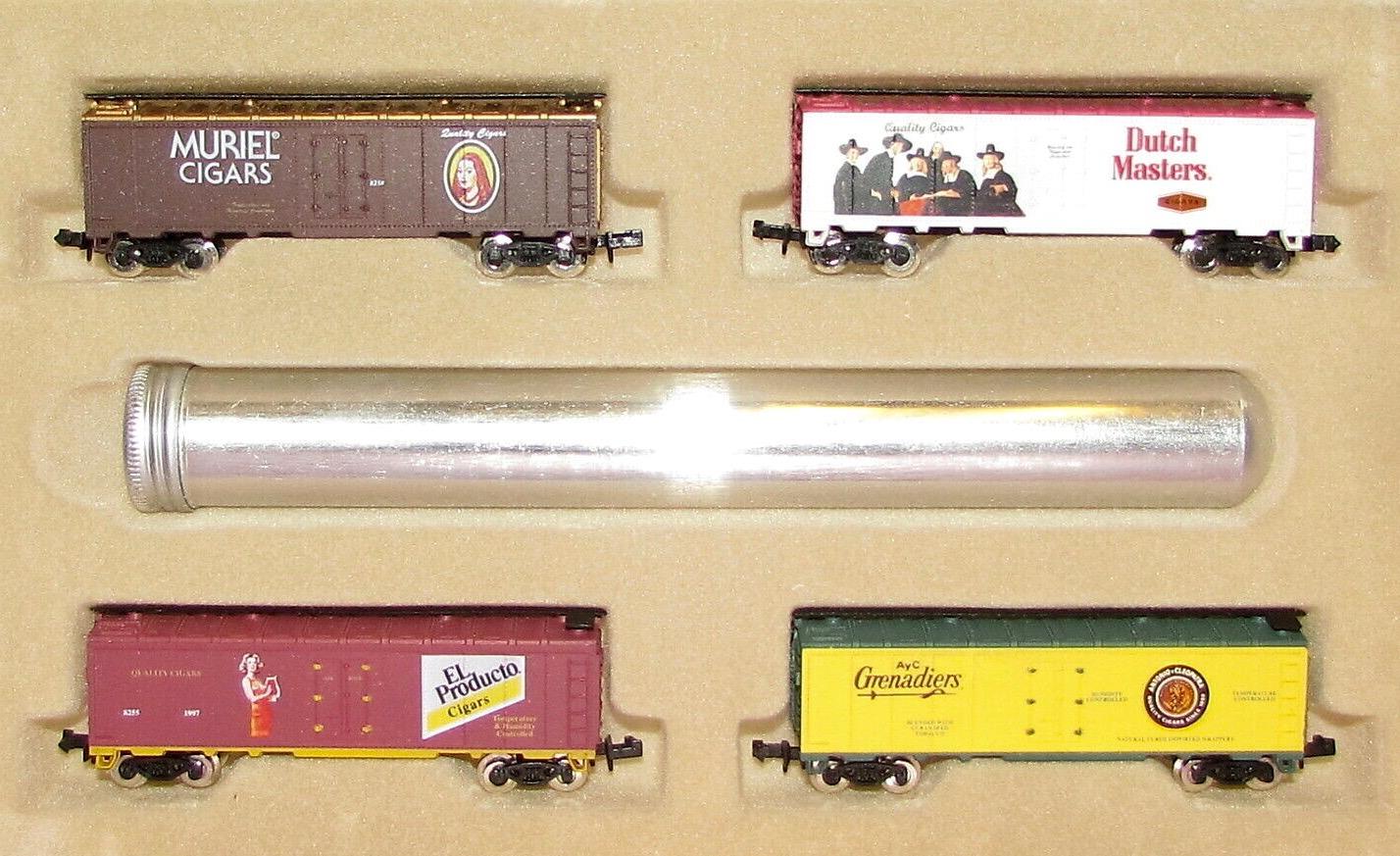 N Scale - Model Power - 3608 - Reefer, 40 Foot, Steel - Various - 4-Pack