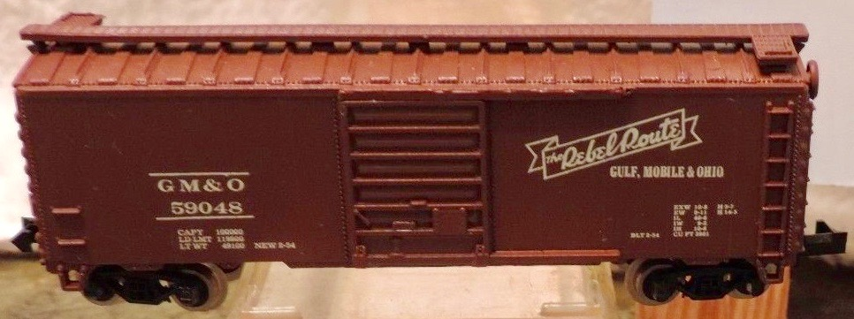 N Scale - Atlas - 3430 - Boxcar, 40 Foot, PS-1 - Gulf Mobile & Ohio - 59048