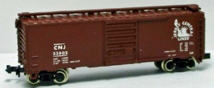 N Scale - Atlas - 3427 - Boxcar, 40 Foot, PS-1 - Jersey Central - 23502