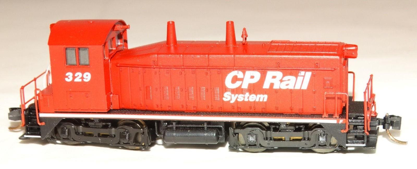 N Scale - Life-Like - 78995 - Locomotive, Diesel, EMD SW1200 - Canadian Pacific - 329