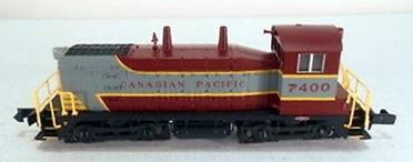 N Scale - Life-Like - 78997 - Locomotive, Diesel, EMD SW1200 - Canadian Pacific - 7400