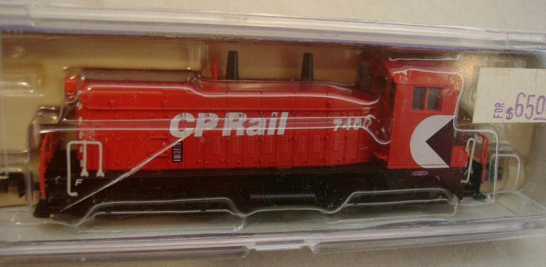 N Scale - Life-Like - 78990 - Locomotive, Diesel, EMD SW1200 - Canadian Pacific - 7400
