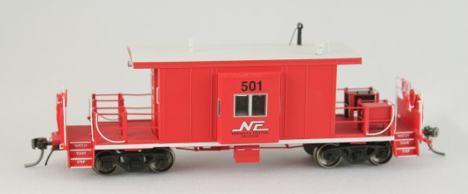 N Scale - Bluford Shops - 99211 - Caboose, Transfer - Nebraska Central - 501
