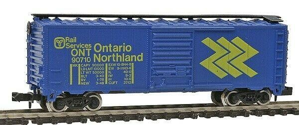 N Scale - Model Power - 3448 - Boxcar, 40 Foot, PS-1 - Ontario Northland - 90710
