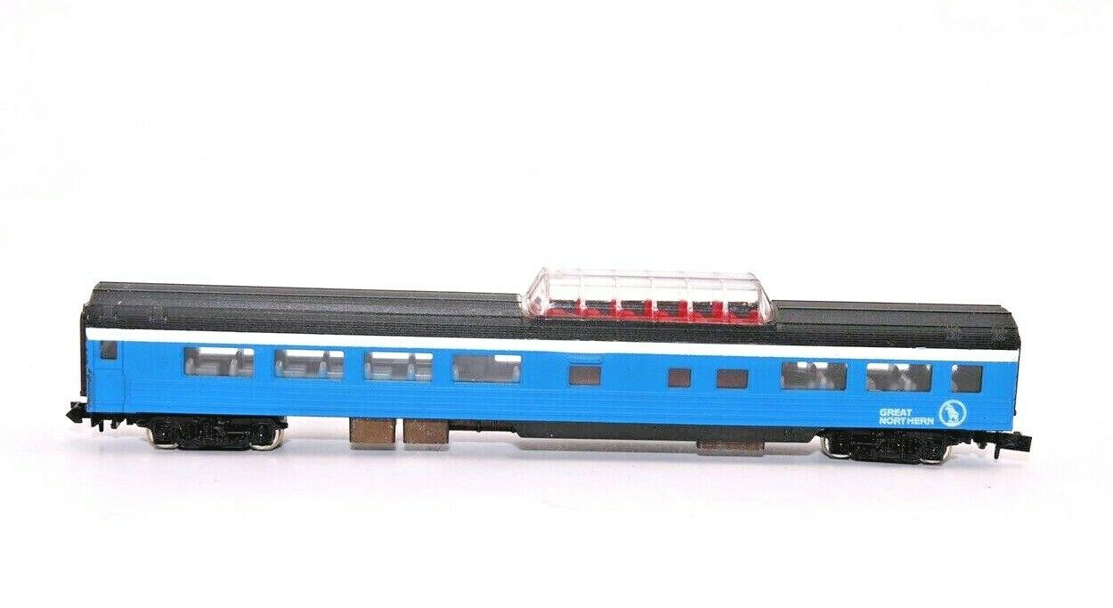 N Scale - Con-Cor - 4061B - Passenger Car, Lightweight, Smoothside Vista Dome - Great Northern