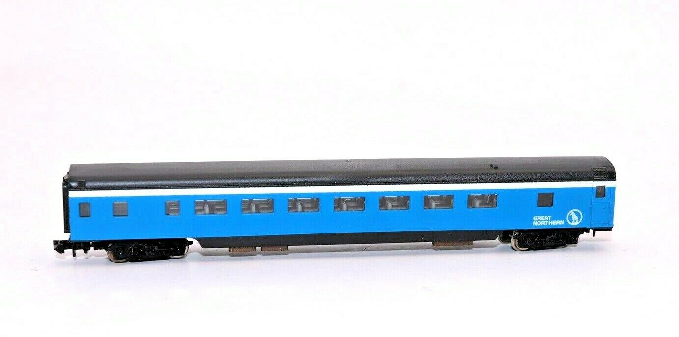 N Scale - Con-Cor - 4001B - Passenger Car, Lightweight, Smoothside - Great Northern