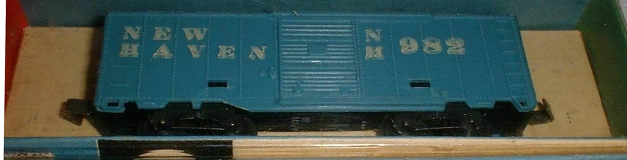 N Scale - Arnold - 0461 - Boxcar, 40 Foot, PS-1 - New Haven - 982