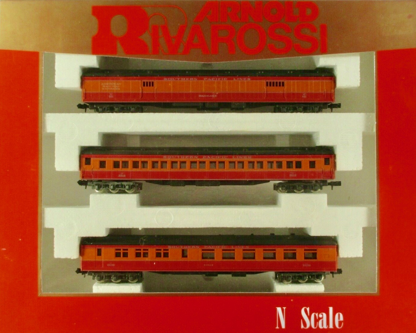 N Scale - Arnold - 0530 - Passenger Car, Heavyweight - Southern Pacific