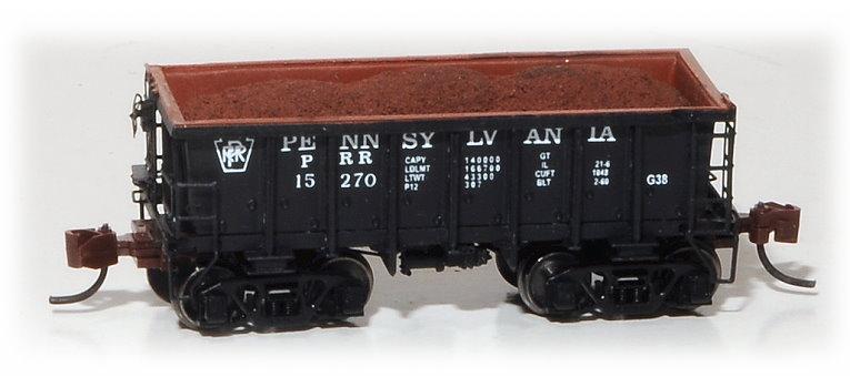 N Scale - Eastern Seaboard Models - 530403 - Open-Hopper, G38 Ore Jenny - Pennsylvania - 15270