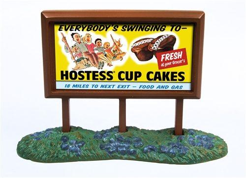 N Scale - Classic Metal Works - 21001 - Roadside Billboard - Billboard - Hostess Cup Cakes