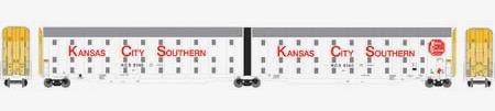 N Scale - Athearn - 24841 - Kansas City Southern - 8140