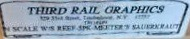 N Scale - Third Rail Graphics - 187 - Reefer, Ice, Wood - Meeter