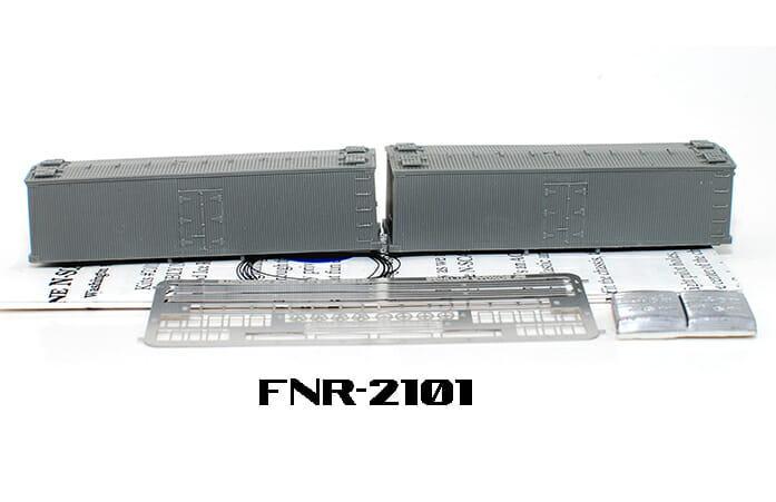 N Scale - Fine N-Scale Products - FNR-2101 - 36ft Truss Rod Wood Reefer - Undecorated - undecorated